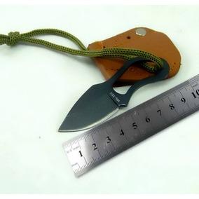 Cuchillo De Supervivencia Mini Con Funda Caza Tactico Pesca