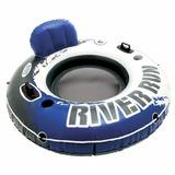 Sillon Colchoneta Aro Inflable River Run Intex 137 Cm - R2