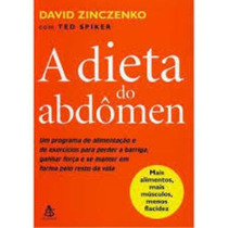 Livro A Dieta Do Abdômen David Zinczenko