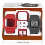 Relogio Unissex Champion Digital Cp40180x - Troca Pulseira -