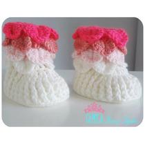 Botitas Para Bebes Tejidas A Crochet
