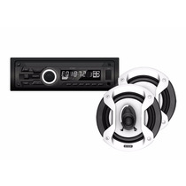 Auto Stereo X-view Ca-3020 Mp3 Usb Am/fm + Parlantes Gtz650