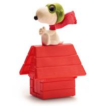 Boneco Aviador Casinha Snoopy Coleção Mc Donalds Peanuts