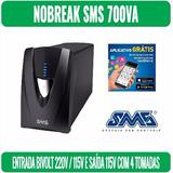 No-break Sms Senoidal Interactive 700va - Cod.28219-1