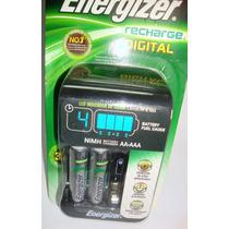 Cargador De Pilas Energizer Con 2 Pilas Aa