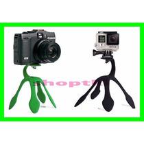 Suporte Mais Flexível P/ Celular Selfie Gopro Canon Gps
