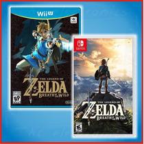 Zelda Breath Wild + Bonu! Switch O Wii U | $1199 De Contado!
