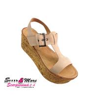 Sandalia Para Dama Bardo 16-10 Beig