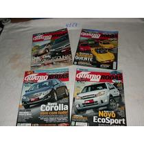 4 Revistas Quatro Rodas Edições De 2007 - Ref.: 4058