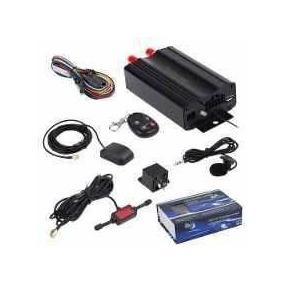 Rastreador Gps Bloqueador Veicular Controle Remoto Tk103b On