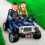 Power Wheels Hot Wheels Jeep Wrangle Carro Juguete Eléctrico