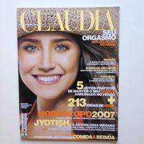 Revista Claudia Fernanda Vasconcellos Nº 544 Ano 2007