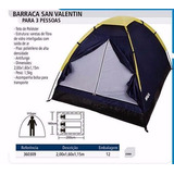 Barraca Camping San Valentin 3pes. Kala 2x1,6mt Iglu F.grats