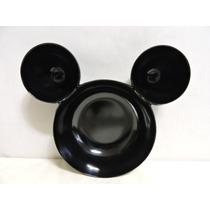 Mickey Mouse Fiestas Botaneros Platos 4 Pz Melanina Recuerdo