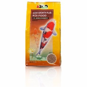 Alimento Azoo 9 In 1 Koi Growth Pellet 3mm/20kg Pelet Chico