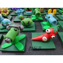 Coleccion 67 Figuras Plants Vs Zombies Animecun