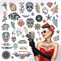Papel Transfer Tattoo Para Tatuajes Temporales X 1 Hoja A4