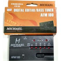 Afinador Eletrônico Afm100 Michael Guit/violão/baixo