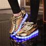 Zapatos Con Luces Led Marca Forever Originales Usa