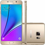 Samsung Galaxy Note 5 N920 Android 5.0 Desbloqueado Dourado.