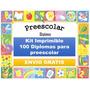 Kit Imprimible Diplomas De Preescolar