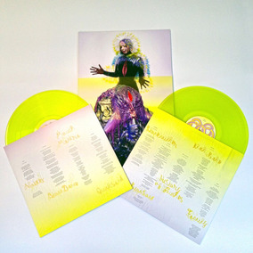 Bjork Vulnicura Yellow Vinyls Vinilo Doble Importado
