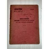 Reglamento Tribunales De Honor De Las Fuerzas Armadas 1953