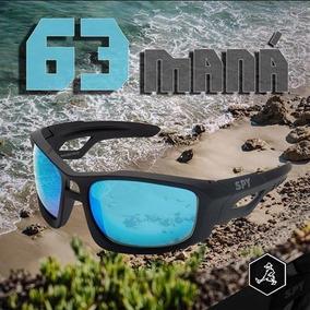 Óculos De Sol Spy Original Maná 63 Preto Fosco - Lente Azul. R  208 49 d6f631067c