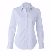Kit 50 Camisete Camisa Social Feminina Tricoline