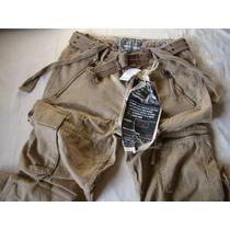 Bershka Pantalon Color Caqui Talla 31 Usa Original Y Nuevo