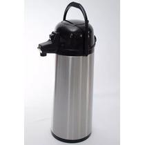 Garrafa Térmica Aço Inox Com Ampola De Vidro 1,9 Litros