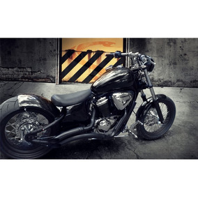 Escapamento Escape Cobra Shadow 600 Jj Black Teflon