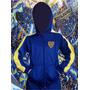 Campera Boca Juniors Para Chicos Talles 2 Al 14