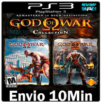 God Of War Collections [ Jogo Psn Ps3 Play3 Digital