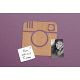 Painel Furador De Cortiça Instagram Ou Love