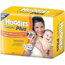 Huggies Classic Plus 12 Hs. Xxg X 40 Un. Más14 Kg Hurlingham