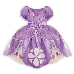 Disney Store Sofía El Primer Vestido De Vestuario: Xs Talla