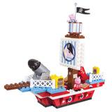 Set De Juegos El Barco Pirata De George Y Peppa La Cerdita