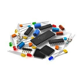 Lote Mix Componentes Eletronicos ( Capac, Ci, Diodo, Resis )