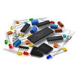 Lote De Componentes Eletronicos (resistor, Ci, Capacitor)