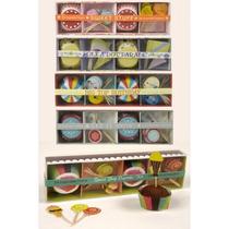 Set De Pirotines Y Pinches X 24 (sweet Shop Golosinas)