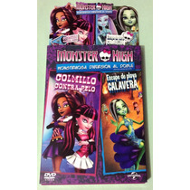 Monster High Colmillo Contra Pelo, Escape Playa Calavera Dvd