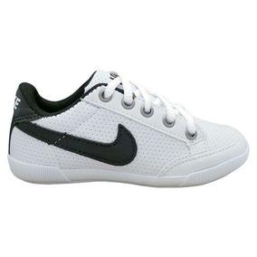 Sapatênis Infantil Nike Branco E Preto