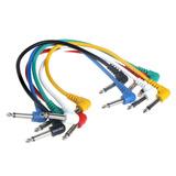 Cables Para Pedales De Efectos De Guitarra/bajo 30 Cm.