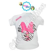 Franelas Para Niñas De Frozen, Peppa Minnie Monster High