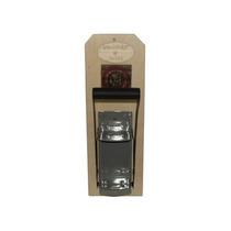 Amassador De Latas De Cerveja Refrigerante Madeira Alumínio
