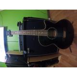 Guitarra Electroacústica Ibanez Aeg10, Capsula Y Pre Fishman