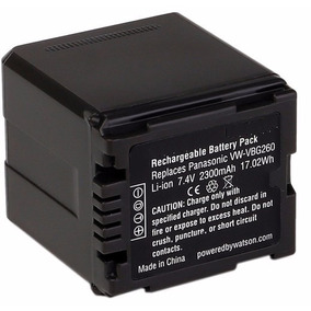 Bateria Vw-vbg260 Panasonic Ag-ac7, Ag-af100, Ag-hmc40, Hdc