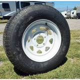 Neumático Con Llanta Acero Aro 14 Casa Rodante