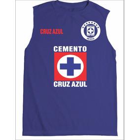 Playera Cruz Azul Fc Sin Mangas